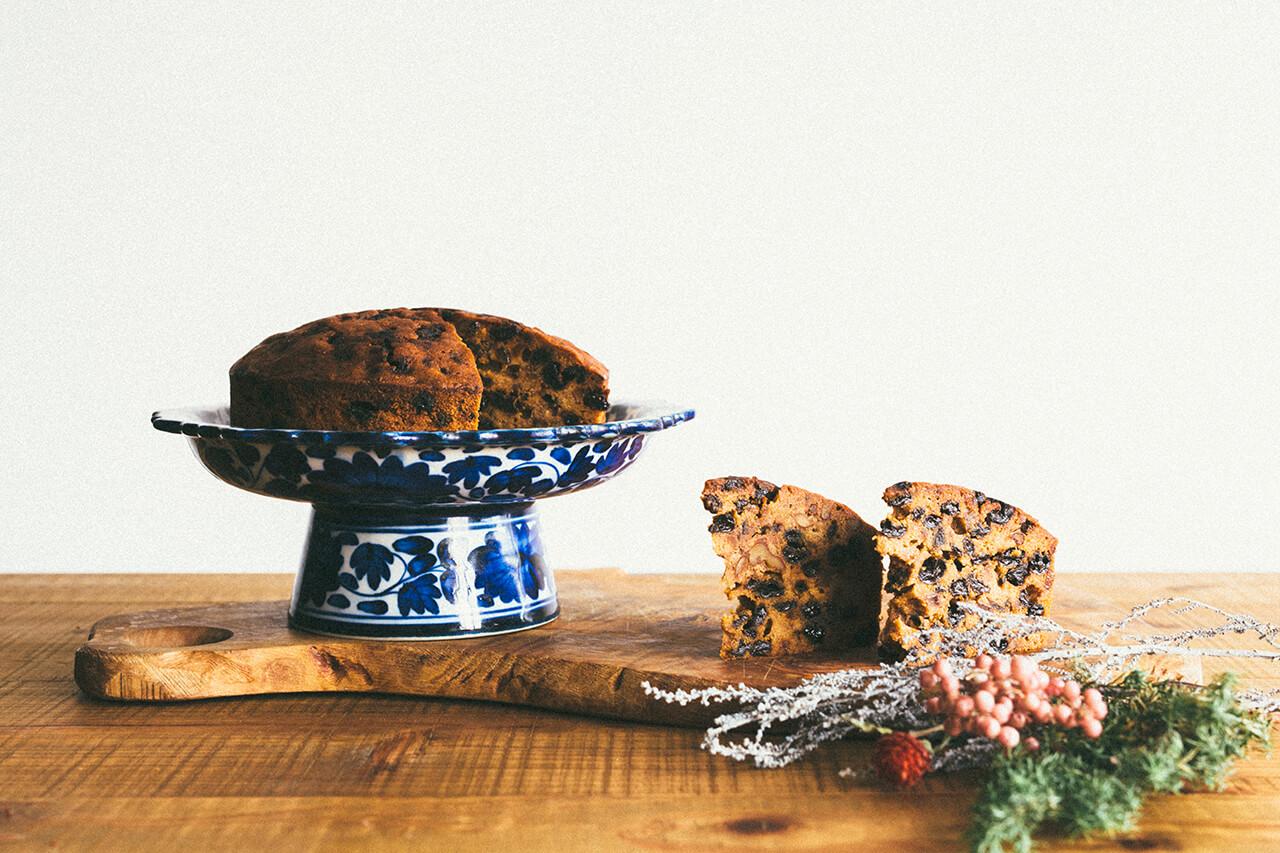 【クリスマス限定】 オーガニックフルーツのケーキ 15cm 丸ホール